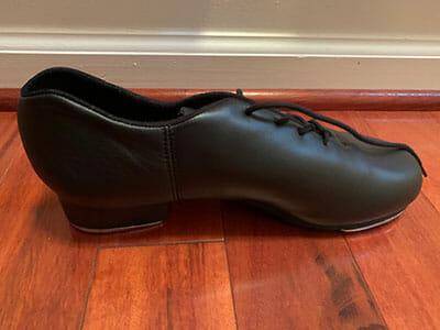 Black Capezio Cadence Tap Shoe, Lasley Centre Tap III Class Shoes