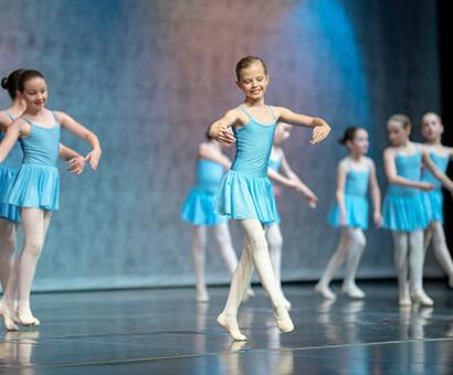Ballet II dance classes instruction in Northern Virginia - Lasley Centre
