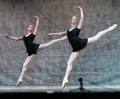 Contemporary Intermediate Ballet classes instruction in Northern Virginia - Lasley Centre