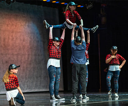 Hip Hop II classes instruction in Northern Virginia - Lasley Centre