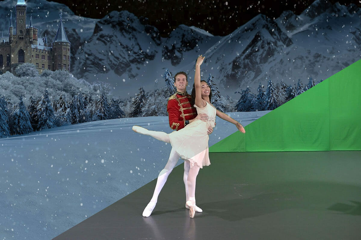 Nutcracker Movie Performance - Lasley Centre for the Performing Arts in Northern Virginia, Green Screen Magic