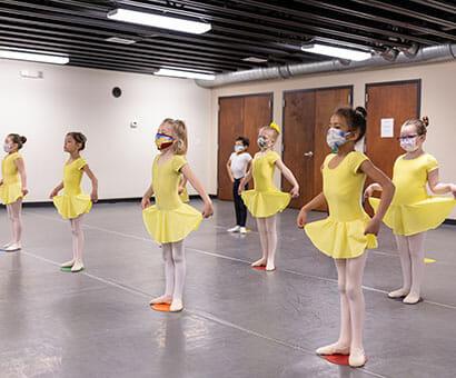 Pre-School Dance (Age 3 – 5) dance classes instruction in Northern Virginia - Lasley Centre