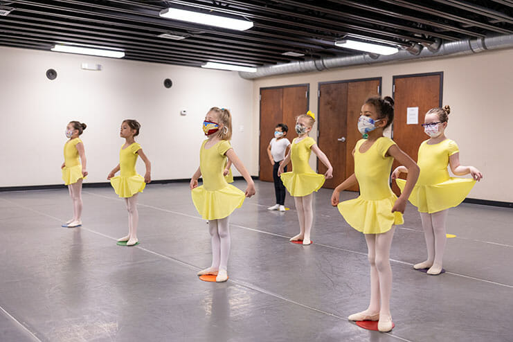 Primary C Pre-School Dance (Age 3 – 5), Lasley Centre for the Performing Arts, Young Kids Dance Classes, Girls and Boys Learning to Dance