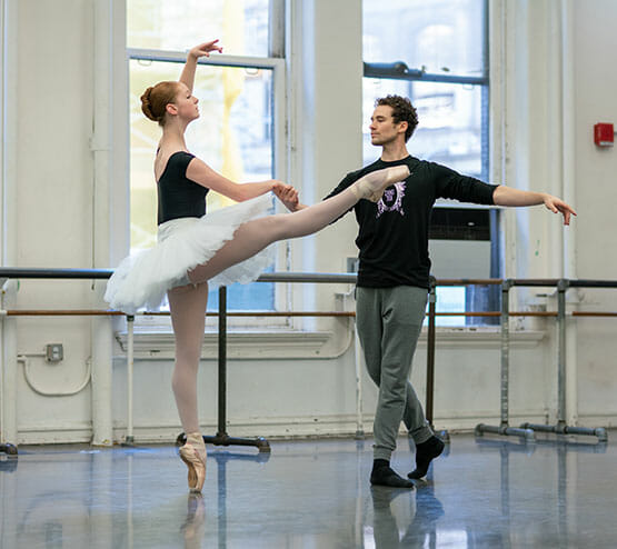 Partnering classes instruction in Northern Virginia - Lasley Centre, Teresa with Cory Stearns, ABT Studios, NYC