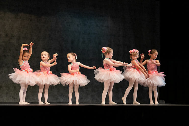 Pre-Primary Pre-School Dance (Age 3 – 5), Lasley Centre for the Performing Arts, Young Kids Dance Classes, Girls and Boys Learning to Dance